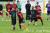 Coupe Junior 2013, Sablé sur Sarthe, France.<br /> U14. RFO (La Flotte en Ré)   vs Frisbeurs Nantais (Nantes)<br /> PhotoID : 2013-05-11-0035