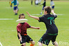 Coupe Junior 2013, Sablé sur Sarthe, France.<br /> U14. RFO (La Flotte en Ré)   vs Frisbeurs Nantais (Nantes)<br /> PhotoID : 2013-05-11-0019