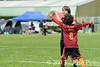 Coupe Junior 2013, Sablé sur Sarthe, France.<br /> U14. RFO (La Flotte en Ré)   vs Frisbeurs Nantais (Nantes)<br /> PhotoID : 2013-05-11-0023