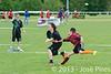 Coupe Junior 2013, Sablé sur Sarthe, France.<br /> U14. RFO (La Flotte en Ré)   vs Frisbeurs Nantais (Nantes)<br /> PhotoID : 2013-05-11-0055