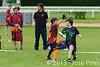 Coupe Junior 2013, Sablé sur Sarthe, France.<br /> U14. RFO (La Flotte en Ré)   vs Frisbeurs Nantais (Nantes)<br /> PhotoID : 2013-05-11-0011