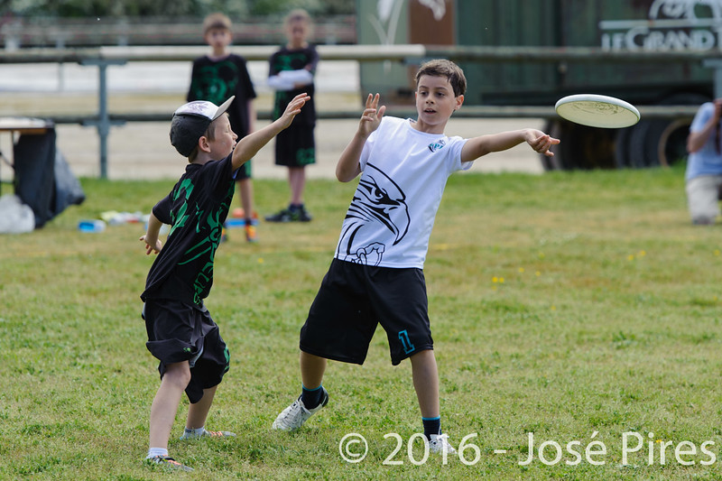 Coupe de France  Junior 2016, Lamotte-Beuvron.<br /> U13. Frisbeurs vs UPA<br /> PhotoID : 2016-05-07-0167