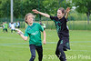 Coupe de France Junior 2017, Saint Sébastien sur Loire, France.<br /> U13. Frisbeurs vs Snap Tchac<br /> PhotoID : 2017-05-13-0055