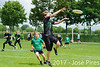 Coupe de France Junior 2017, Saint Sébastien sur Loire, France.<br /> U13. Frisbeurs vs Snap Tchac<br /> PhotoID : 2017-05-13-0031