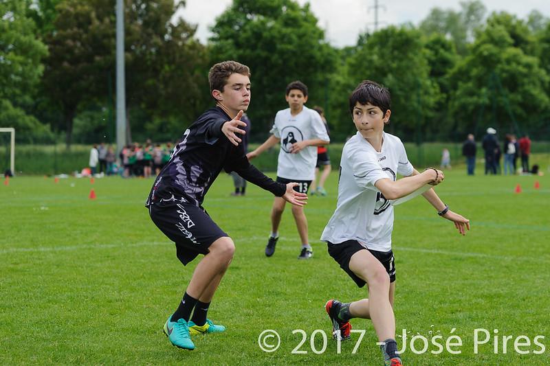 Coupe de France Junior 2017, Saint Sébastien sur Loire, France.<br /> U15. Magic Disc vs Manchots 2<br /> PhotoID : 2017-05-13-0102
