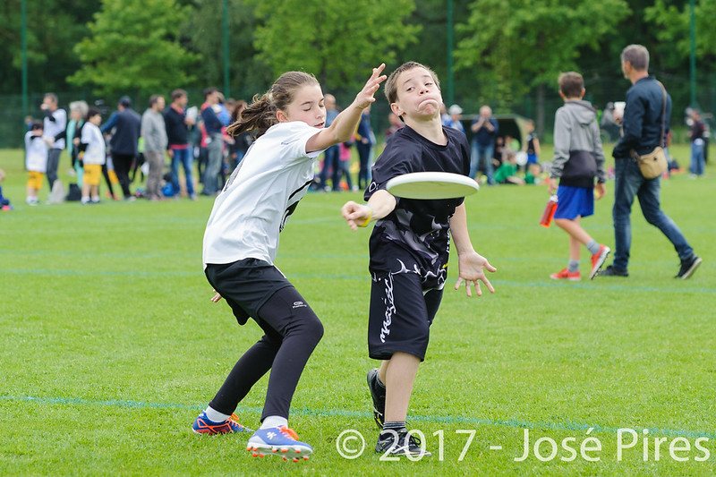 Coupe de France Junior 2017, Saint Sébastien sur Loire, France.<br /> U15. Magic Disc vs Manchots 2<br /> PhotoID : 2017-05-13-0100