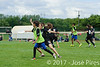 Coupe de France Junior 2017, Saint Sébastien sur Loire, France.<br /> U17 Mixte. Milk Tchac vs Jets<br /> PhotoID : 2017-05-13-0193