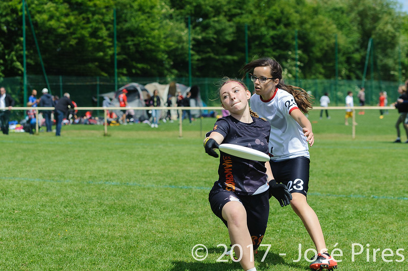 Coupe de France Junior 2017, Saint Sébastien sur Loire, France.<br /> Finale U17 Mixte. Tsunamixtevs Manchots<br /> PhotoID : 2017-05-14-0597