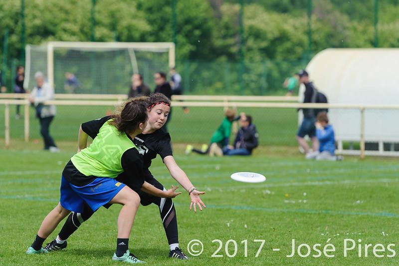 Coupe de France Junior 2017, Saint Sébastien sur Loire, France.<br /> U17 Mixte. Milk Tchac vs Jets<br /> PhotoID : 2017-05-13-0196
