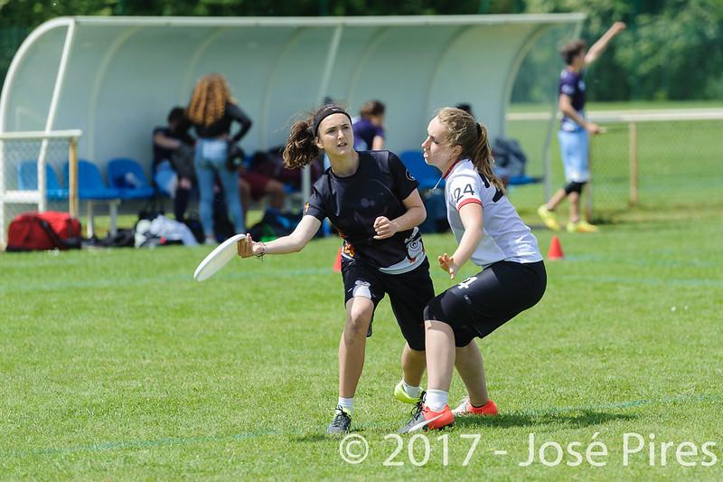 Coupe de France Junior 2017, Saint Sébastien sur Loire, France.<br /> Finale U17 Mixte. Tsunamixtevs Manchots<br /> PhotoID : 2017-05-14-0616