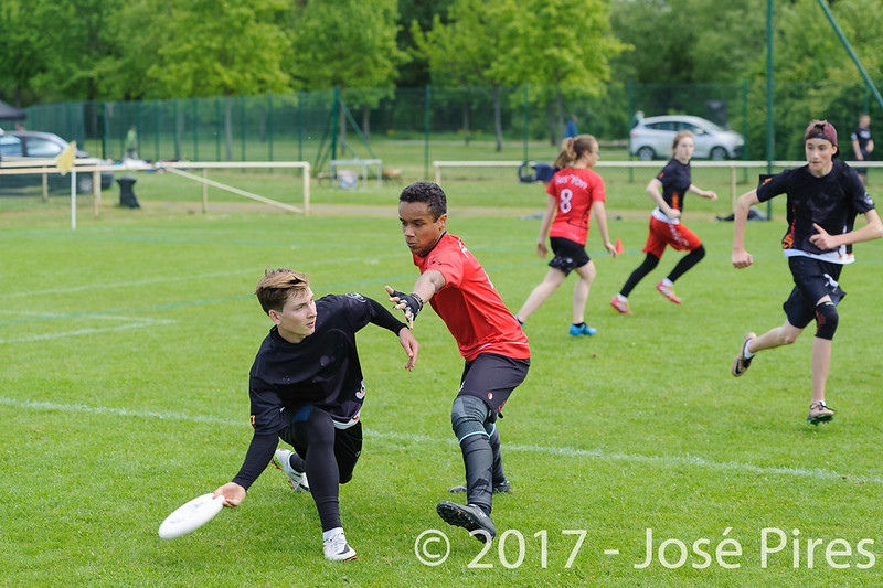 Coupe de France Junior 2017, Saint Sébastien sur Loire, France.<br /> U17 Mixte. Manchots vs Fus'Yon<br /> PhotoID : 2017-05-13-0186