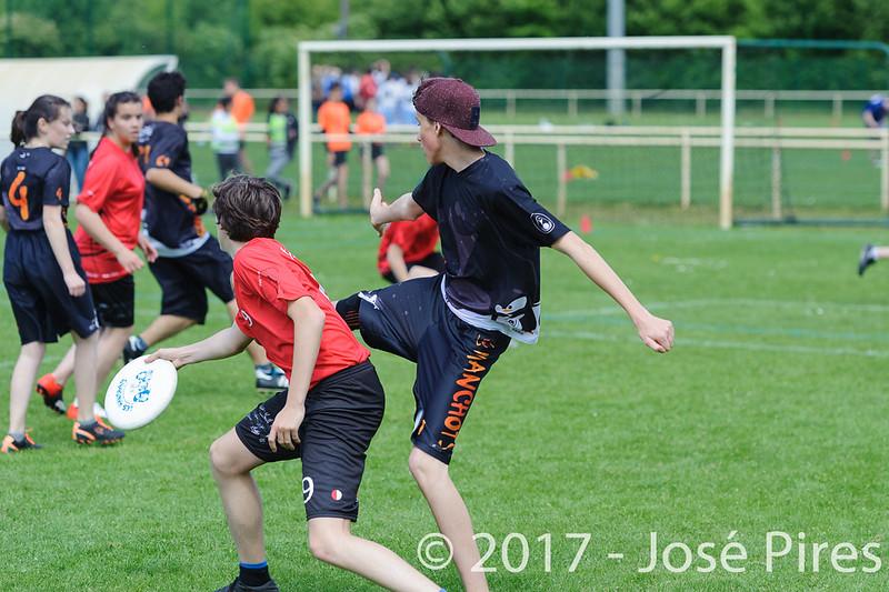 Coupe de France Junior 2017, Saint Sébastien sur Loire, France.<br /> U17 Mixte. Manchots vs Fus'Yon<br /> PhotoID : 2017-05-13-0179