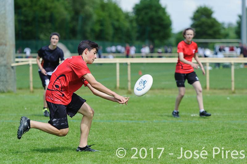 Coupe de France Junior 2017, Saint Sébastien sur Loire, France.<br /> U17 Mixte. Manchots vs Fus'Yon<br /> PhotoID : 2017-05-13-0183