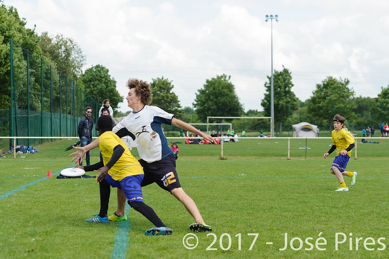 Coupe de France Junior 2017, Saint Sébastien sur Loire, France.<br /> U17 Open. OUF vs Tchac Sparrow<br /> PhotoID : 2017-05-13-0154