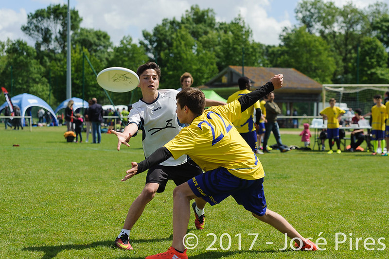Coupe de France Junior 2017, Saint Sébastien sur Loire, France.<br /> U17 Open. OUF vs Tchac Sparrow<br /> PhotoID : 2017-05-13-0161