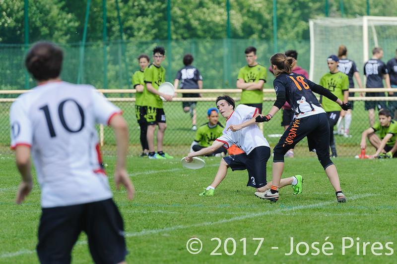 Coupe de France Junior 2017, Saint Sébastien sur Loire, France.<br /> U20 Open.Manchots vs Tsu20<br /> PhotoID : 2017-05-13-0255