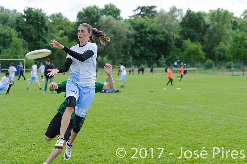 Coupe de France Junior 2017, Saint Sébastien sur Loire, France.<br /> U20 Open. Frisbeurs vs Freezgo Uno<br /> PhotoID : 2017-05-13-0226
