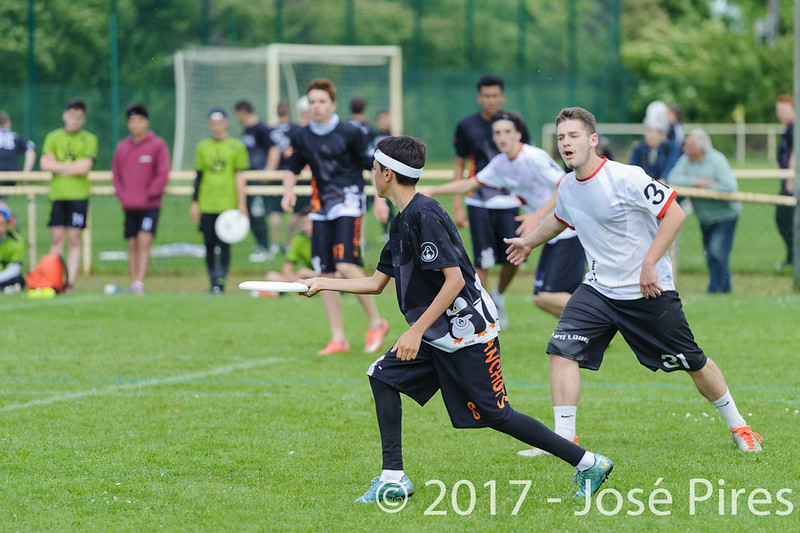 Coupe de France Junior 2017, Saint Sébastien sur Loire, France.<br /> U20 Open.Manchots vs Tsu20<br /> PhotoID : 2017-05-13-0258
