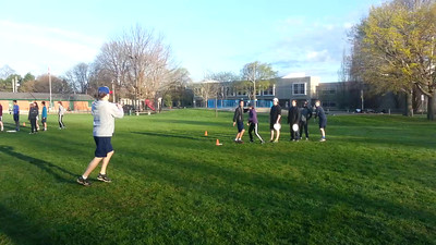 May 1: Cut, Throw and Catch Drills