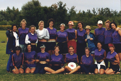 Bust 1999 at Canadian National Ultimate Championship.