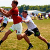 Clapham Ultimate (Great Britain Men's) vs Bad Skid (Germany Men's) at pre-quarters. 2018 World Ultimate Club Championships -- 18 July 2018