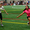 Women's final Riot (USA Women's) vs Revolution (Colombia Women's) at the indoor stadium. 2018 World Ultimate Club Championships -- 21 July 2018