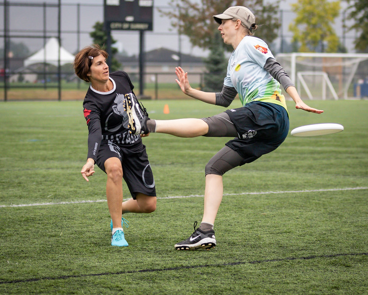 Canadian Ultimate Championships Mixed Division - Day 3 - Aug 25, 2018.