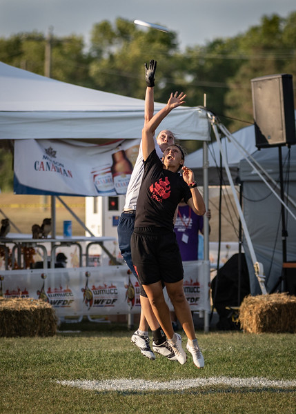 Winnipeg, Canada: Masters women, Dyna vs iRot at WMUCC. July 30, 2018.© 2018 Robert Engelbrecht. All rights reserved
