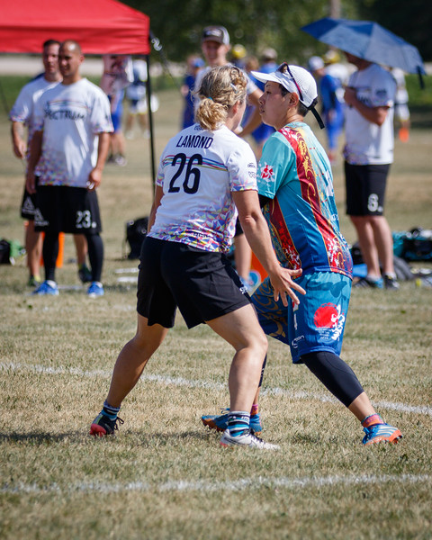 Winnipeg, Canada: Masters Mixed, Spectrum vs Wasabi at WMUCC. July 30, 2018.© 2018 Robert Engelbrecht. All rights reserved