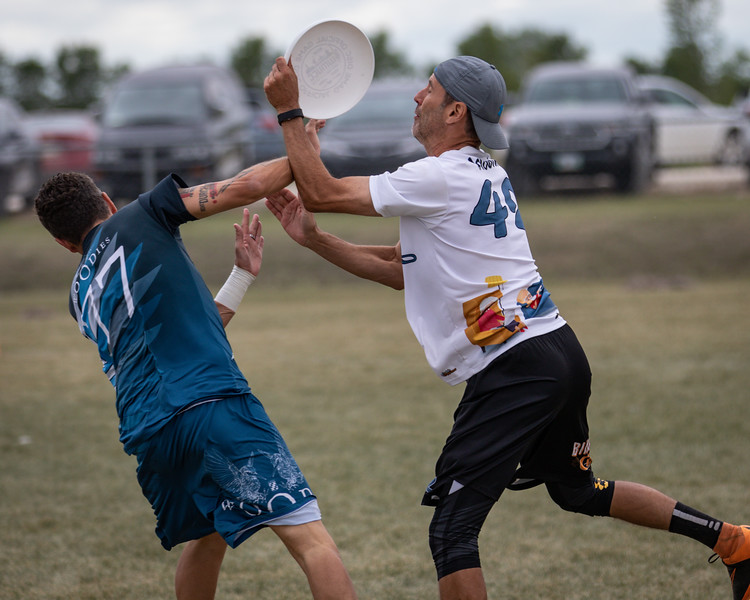 Winnipeg, Canada: Masters Mixed, Bingo and Chill vs Woodies at WMUCC. July 31, 2018.© 2018 Robert Engelbrecht. All rights reserved