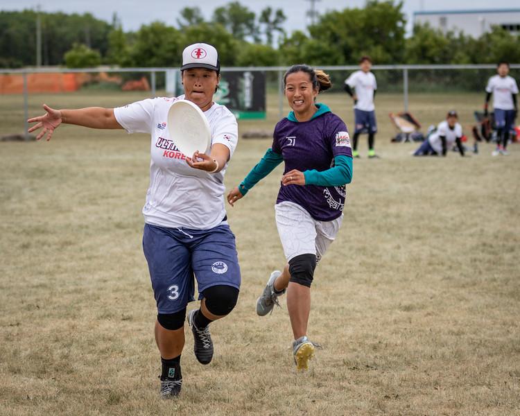 Winnipeg, Canada: Masters Mixed, Masala Magic vs UFO at WMUCC. Aug 1, 2018.© 2018 Robert Engelbrecht. All rights reserved