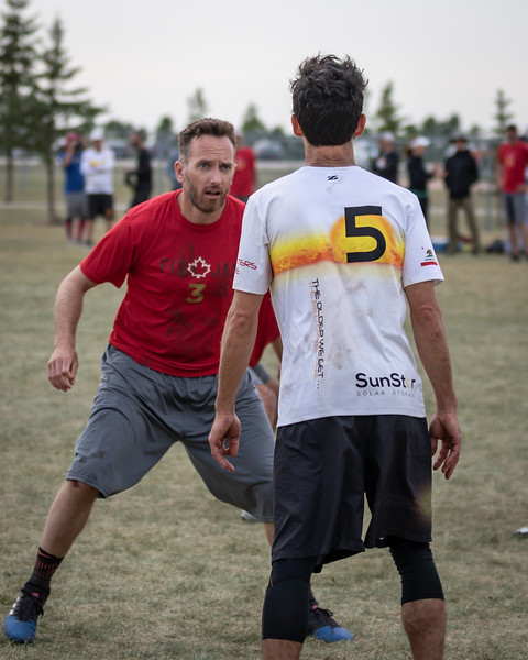 Winnipeg, Canada: Grand Masters, Figjam vs Shadows at WMUCC. Aug 2, 2018.© 2018 Robert Engelbrecht. All rights reserved