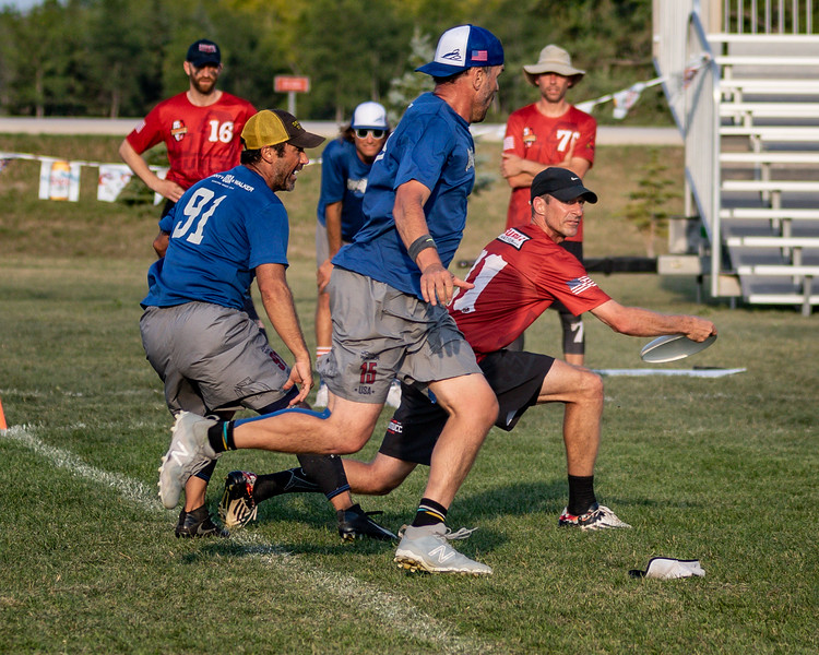 Winnipeg, Canada: Grand Masters Final, Surly vs Johnny Walker at WMUCC. Aug 3, 2018.© 2018 Robert Engelbrecht. All rights reserved
