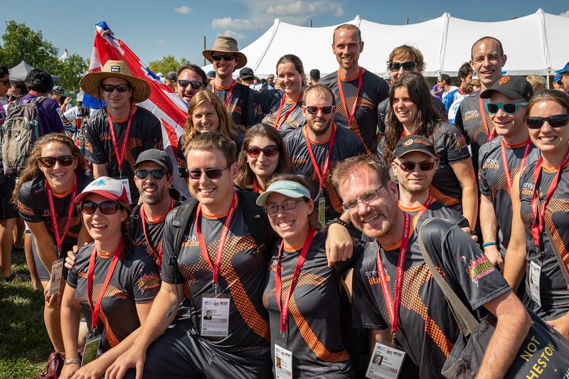 Winnipeg, Canada: Team photos at WMUCC. July 29, 2018.© 2018 Robert Engelbrecht. All rights reserved