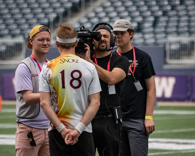 Winnipeg, Canada: Medal Awards  at WMUCC. Aug 4, 2018.© 2018 Robert Engelbrecht. All rights reserved