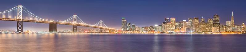 San Francisco Skyline Cityscape Panorama