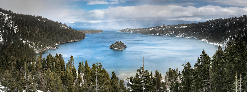 Emerald Bay, Lake Tahoe in Winter
