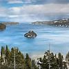 Emerald Bay, Lake Tahoe in Winter