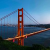 The Golden Gate at Blue Hour - Multi Row Panoramic Image