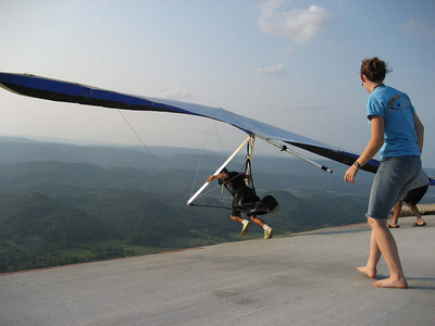 Lookout Mountain Hang Gliding