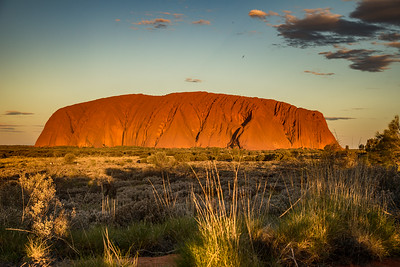 Sunset at Uluru (Ayers Rock)