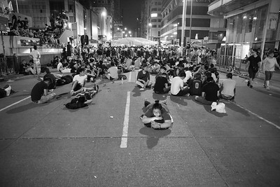 Life on Mongkok streets at 4am @oclphk @hkfs1958 #OccupyHongKong