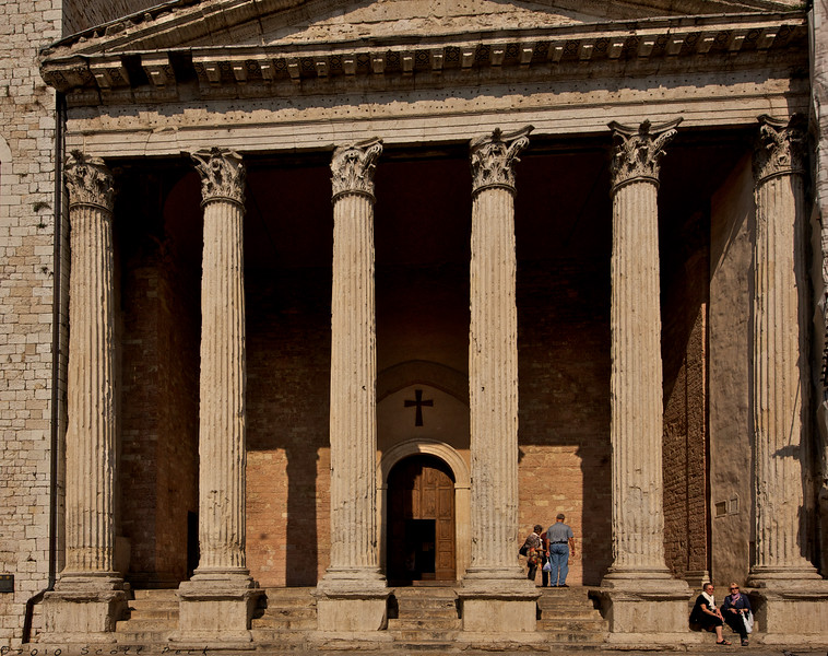 Temple of minerva
