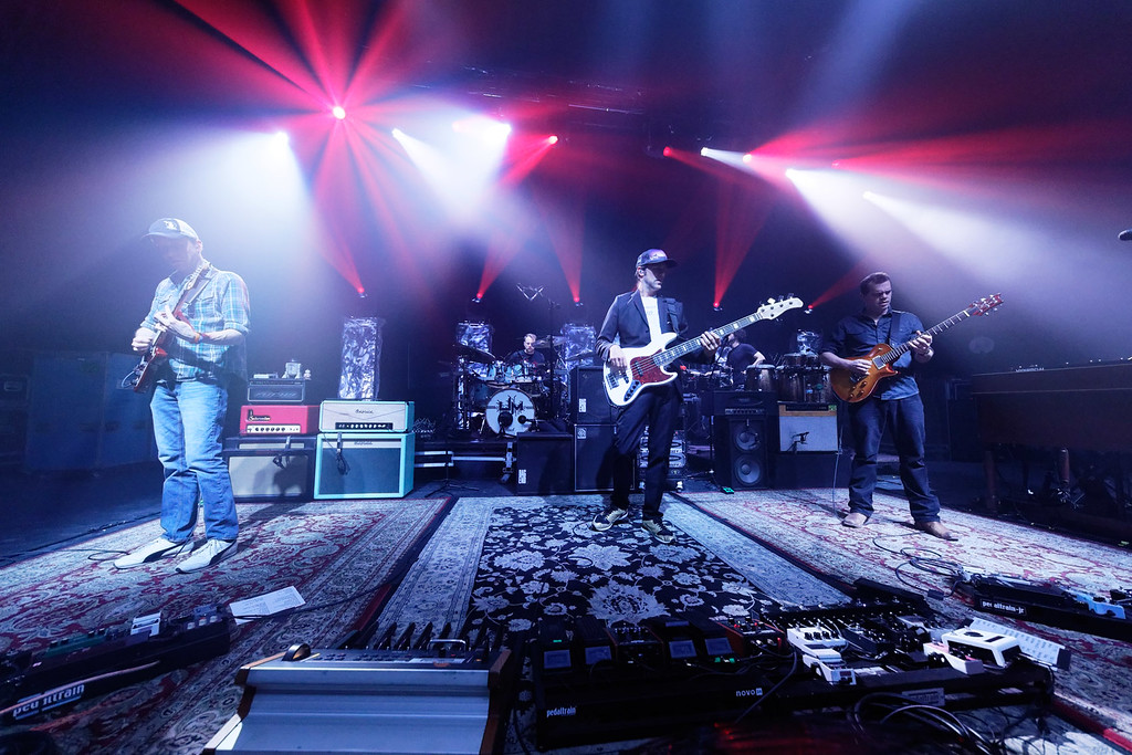 . Umphreys McGee at Fillmore Detroit on 2-3-17.  Photo credit: Ken Settle