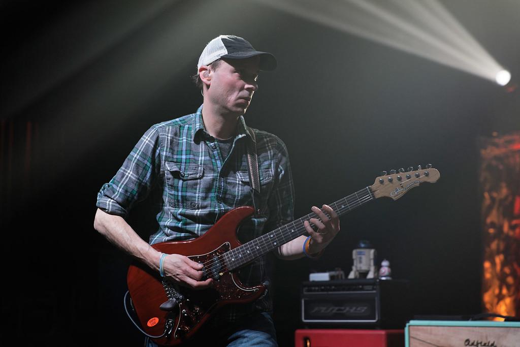 . Umphreys McGee at Fillmore Detroit on 2-3-17.  Photo credit: Ken Settle