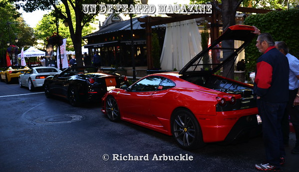 UnDeFeated Magazine at Santana Row Exotic CarShow 4 30 2017