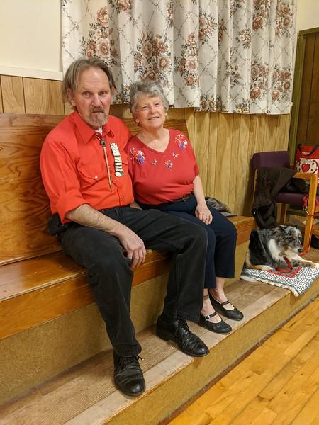 Everett & Carolyn Colglazier (& Babe)