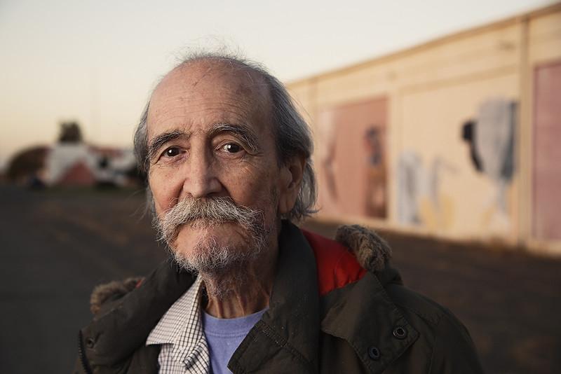 Arthur Apodaca, Tigua Tribe Native American, 78-years old