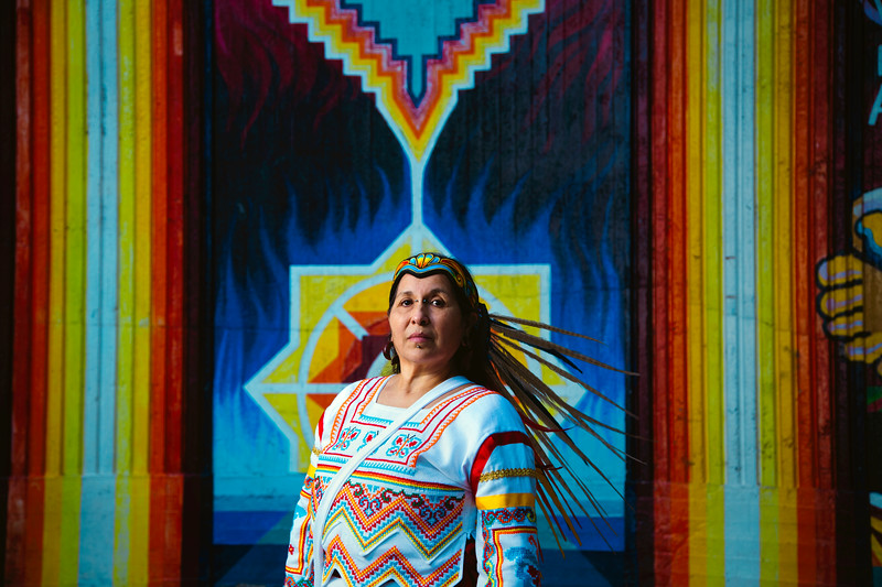 Aztec Dancer and Spiritual Elder, América December, Talks About Struggle and Rebirth