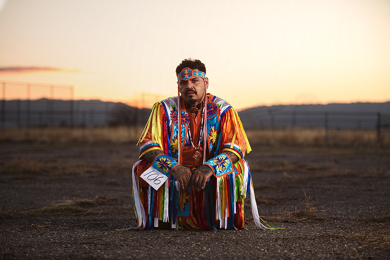Tommy Alanis, Diné (Navajo) Native